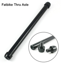 Bicycle Thru Axle Fatbike Axle Skewers Bike Quick Release Hubs Tube Shaft  Front Rear Axle O.L.D 206mm TP1.5 Bike Accessories