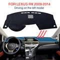 Dash Mat For LEXUS RX 350 450H 2010 2011 2012 2013 2014 2015 Dashmat Pad LHD Dashboard Cover Carpet Sun Shade Mats