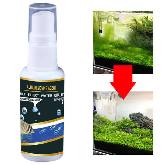 Algae Purifier Aquarium Safe Algae Remover Water Purification for Fish Aquatic Pet Supplies Tank Ponds Water Treatment Tool 2