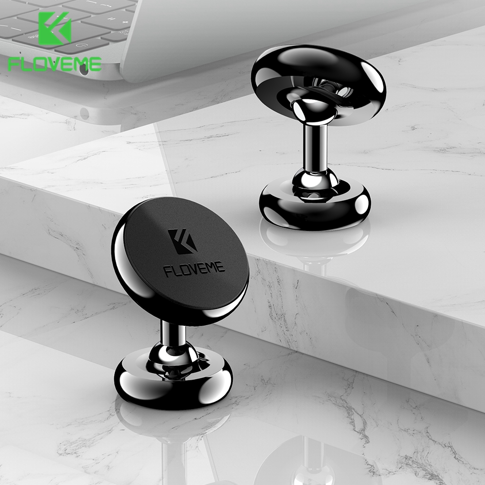 FLOVEME Magnetic Phone Holder  Rotatable  Car Phone Holder For IPhone X 11 Luxury Phone Stand In Car Universal For Mobile Phone
