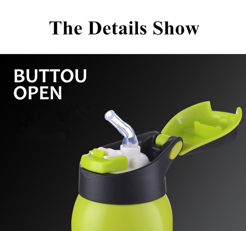 H3deddaba2fe946bf9e756b604e600ca7J 500ML Sport thermos water bottle Thermo Mug Stainless Steel Vacuum Flask mug with straw Insulation Cup Thermoses tthermal bottl