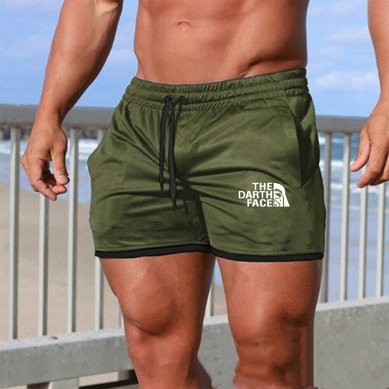 Men's Leisure Shorts Patchwork Joggers Short Sweatpants Trousers Men Bermuda Shorts Roupa Masculina 2 Pieces Slim Fitness Sets