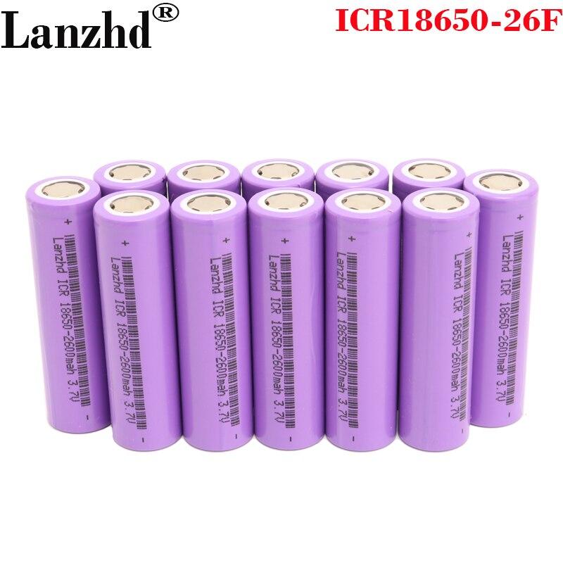 5-40 шт. 18650 5C разрядный аккумулятор 18650 2600 мАч литий-ионные батареи 3,7 в 18650 Аккумулятор для электронных сигарет, электрических дрелей