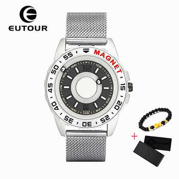 New EUTOUR Magnetic Mens Watch Quartz Man Women watches Ball Show Kinds Straps Fashion Casual Wrist Watches erkek kol saati 2019 - DISCOUNT ITEM  49% OFF All Category