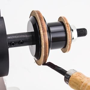 Image 3 - 220V/110V 8000RPM deri parlatma parlatma makinesi deri kenar taşlama kiti