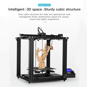 Image 2 - Creality Ender 5/Ender 5 פרו 3D מדפסת DIY ערכת 220*220*300mm לבנות נפח עם שדרוג שקט האם PTFE צינורות Extruder