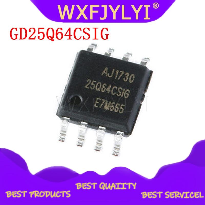 5 шт./лот GD25Q64CSIG 25Q64CSIG SOP8 GD чип памяти Новый