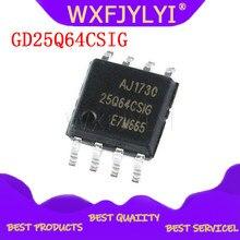 5 pçs/lote GD25Q64CSIG 25Q64CSIG SOP8 GD chip de memória novo