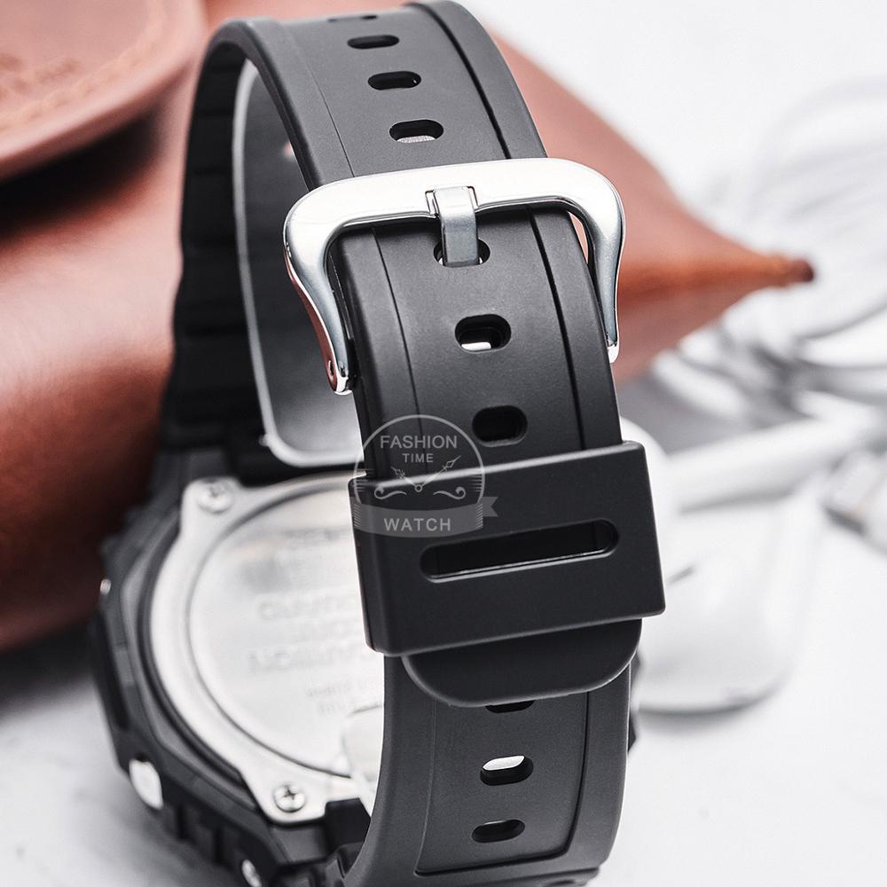 Relógio Casio g shock Relógio Ultra fino para homens top de luxo conjunto Duplo LED militar Chronograph men watch relogio digital watch 200m Relógio de pulso de quartzo impermeável esporte mergulho relógios g shock - 4