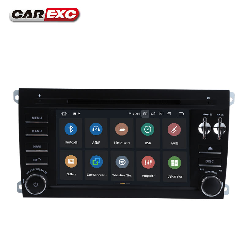Sale Android 9.0 Octa Core  Car DVD Player Stereo System For Porsche Cayenne With Canbus Wifi GPS Navigation Radio Carplay 1