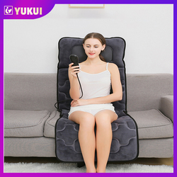 Full Body Multi-Functional Therapy Shiatsu Vibrataion Electric Heating Massage Mattress Pad Back Neck Massager Massage Cushion