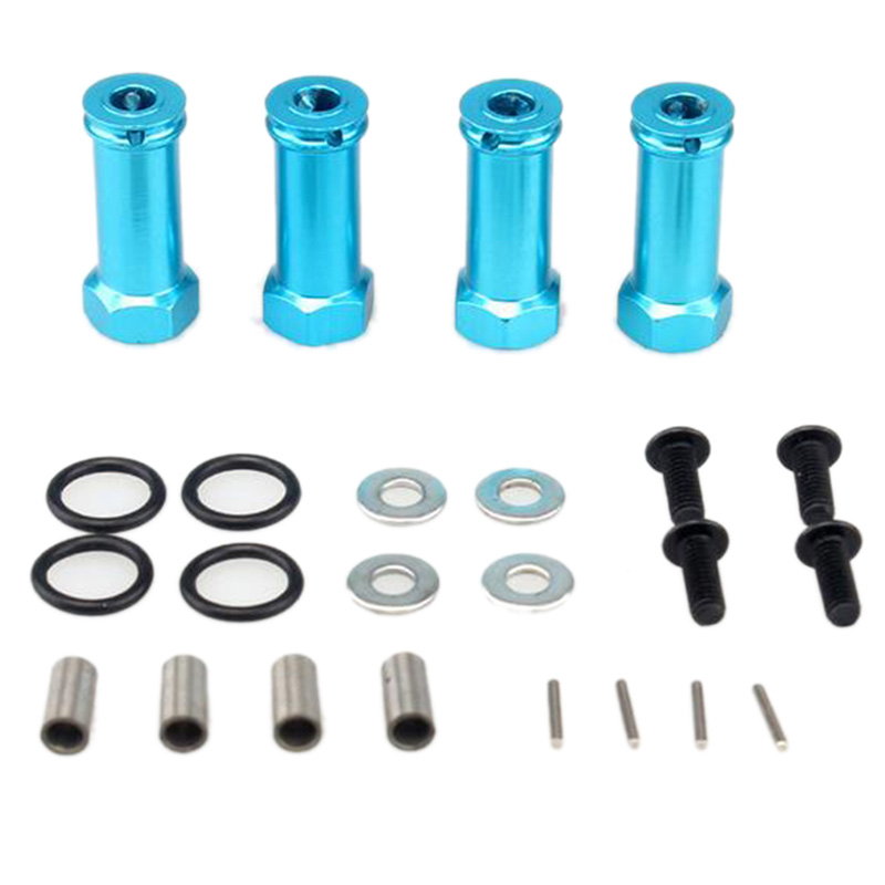 For <font><b>Wltoys</b></font> <font><b>12428</b></font> 12423 Feiyue FY-03 1/12 RC Car Spare Parts Upgrade Large Tires Lengthened Combiner 12Mm image