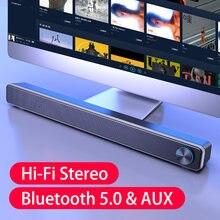 Cinema em casa caixa de som alto-falante bluetooth soundbar tv subwoofer alto-falante computador altavoces hi-fi barra de som baixo alto-falantes