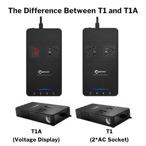 Image 5 - XP Xe Nguồn Điện DC 12 V Sang AC 220 V 230V Bộ Chuyển Đổi Điện Áp Với Không Khí QC 3.0 sạc USB Tự Động Inversor 12 V 220 V