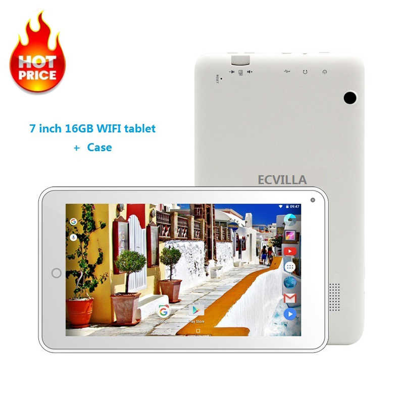 7 inch usb wifi android 7.0 tablet pc Quad Core 16GB 32GB TF Card IPS goedkope kids Tablet android case toetsenbord 8 9 10 bluetooth