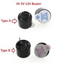 10 шт., 3 в, 5 В, 12 В, активный зуммер, звуковой сигнал, магнитный звуковой сигнал с длинным диапазоном, динамик 0955 9*5,5 мм, 12095, 12*9,5 мм 09A03/TMB09A05