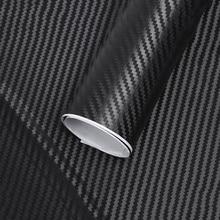 127cm*10cm Car Accessories Interior Film Waterproof Car Styling Wrap Carbon Fiber Vinyl Film Car Stickers Auto Vehicle Detailing