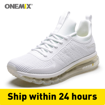 onemix air cushion Men's Running Shoes Breathable Sneakers light breathable soft insole for outdoor trekking running sneakers
