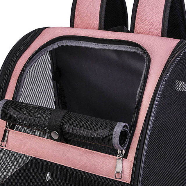 Accessories Pet Backpack Bird Parrot Travel Bag Cage Mesh Breathable Fashion Outdoor Adjustable Strap Foldable Carrier Zipper 5