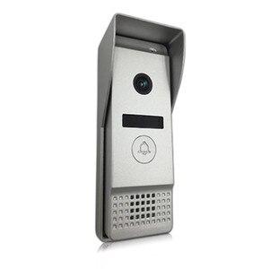 Image 5 - Dragonsview Wifi וידאו פעמון עם צג IP וידאו דלת טלפון אינטרקום מערכת רחב זווית מגע מסך שיא זיהוי תנועה