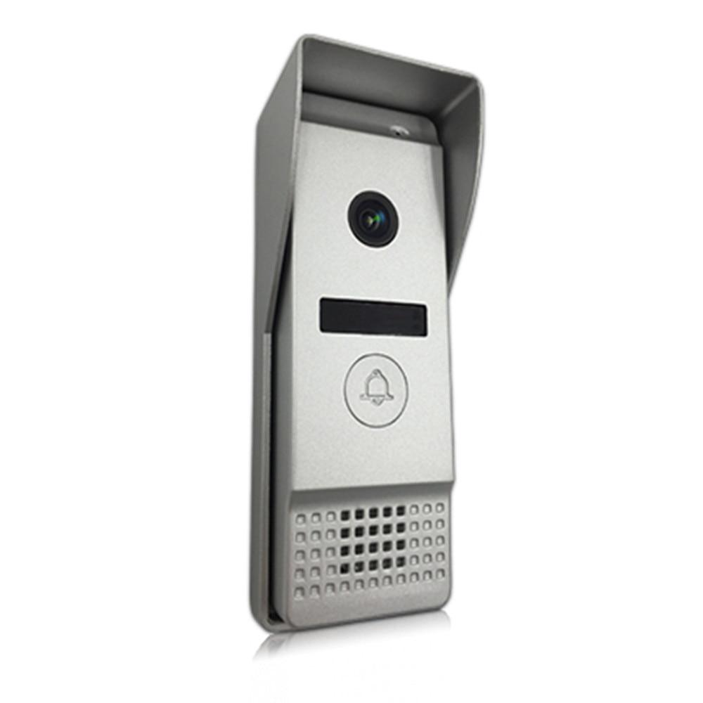 Dragonsview Wifi Video Türklingel mit Monitor IP Video Tür Sprechanlage System Weitwinkel Touchscreen Rekord Motion Erkennung - 5