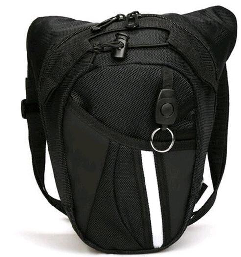 Wholesale Hot Black Motocross Leg Bag Motorcycle Riding Bag Knight Waist Bag Outdoor Multi-function Bag