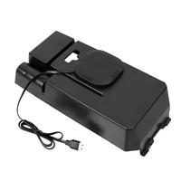 Araba Qi Kablosuz Cep Telefonu Şarj Paneli saklama kutusu Mercedes benz C class Için W205 C200 C300 Glc