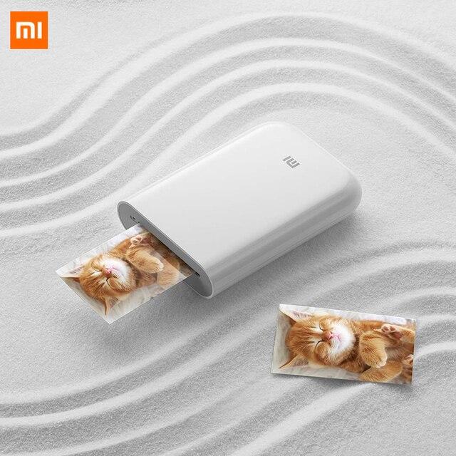Xiaomi Mijia ARเครื่องพิมพ์300DpiแบบพกพาMiniกระเป๋าDIYหุ้น500MAh Pictureเครื่องพิมพ์คู่มือเครื่องพิมพ์ทำงานกับMijia