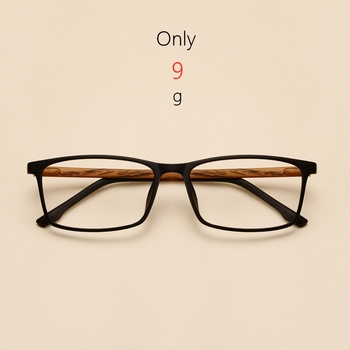 Men and women glasses frame imitation wood grain square fashion retro Optical Spectacle Eyeglasses Glasses 98056
