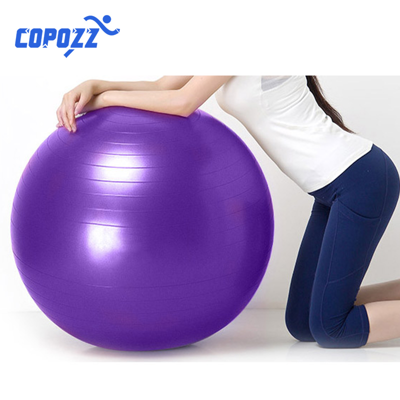 Yoga Ball GYM Balanced Ball Fitness Massage Sport  Workout Relieve Pain Massage Balls Training Tool 55cm 65cm 75cm
