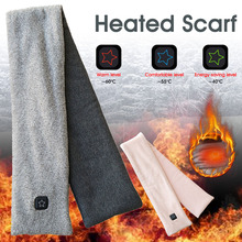 Smart с подогревом шарф теплый дворец горячий компресс шейный отдел позвоночник USB зарядка самонагрев нагрудник для мужчин и женщин