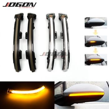 For VW Volkswagen Golf 7 Jetta MK7 VII MK7 Golf 7.5 GTI R Touran LED Dynamic Turn Signal Light Side Mirror Sequential Blinker 1