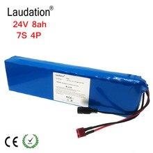 Laudation – batterie Lithium-Ion 24V, 8ah, 29.4V, 8000 mAh, 15a, BMS 250W, 24V, 350W, 18650