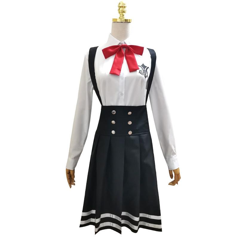danganronpa escola menina jk uniforme feminino anime