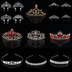 Princess Crown Bride bridesmaid crown Children's Birthday Christmas hair ornaments
