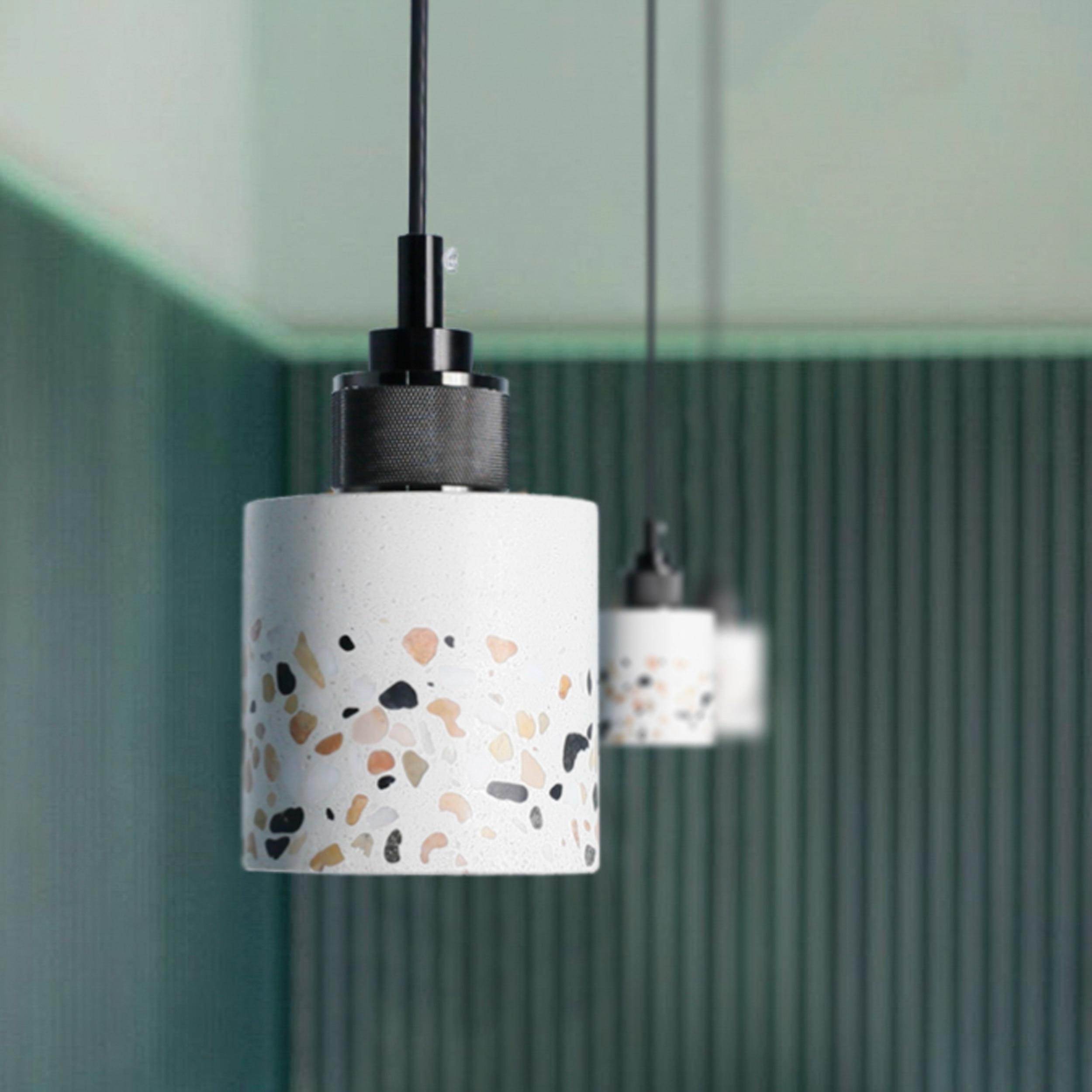 Cristal nordique verre pendentif lumières salon chambre éclairage hanglamp nordique art hôtel G4 lampe pendante cuisine suspension lampe