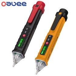 Oauee vc1010 digital inteligente sem contato caneta alarme ac medidor de detector de tensão testador caneta sensor tester