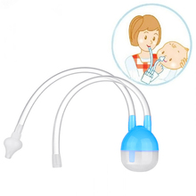 NewBorn Baby Vacuum Suction Nasal Aspirator Safety Nose Cleaner Infantil Soft Tip Aspirator Nasal Baby Care Drop Shipping