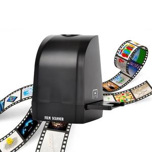 Digital Film Scanner with 8 megapixel CMOS Convert Negative Slide &Film to Digital Photo Support MAC/Windows XP/Vista/ 7/8/10