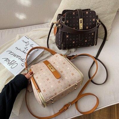 2020 Fashion Crocodile Crossbody Bag For Women Shoulder Bag Designer Women Bags Luxury PU Leather Bag Bucket Letter Handbag
