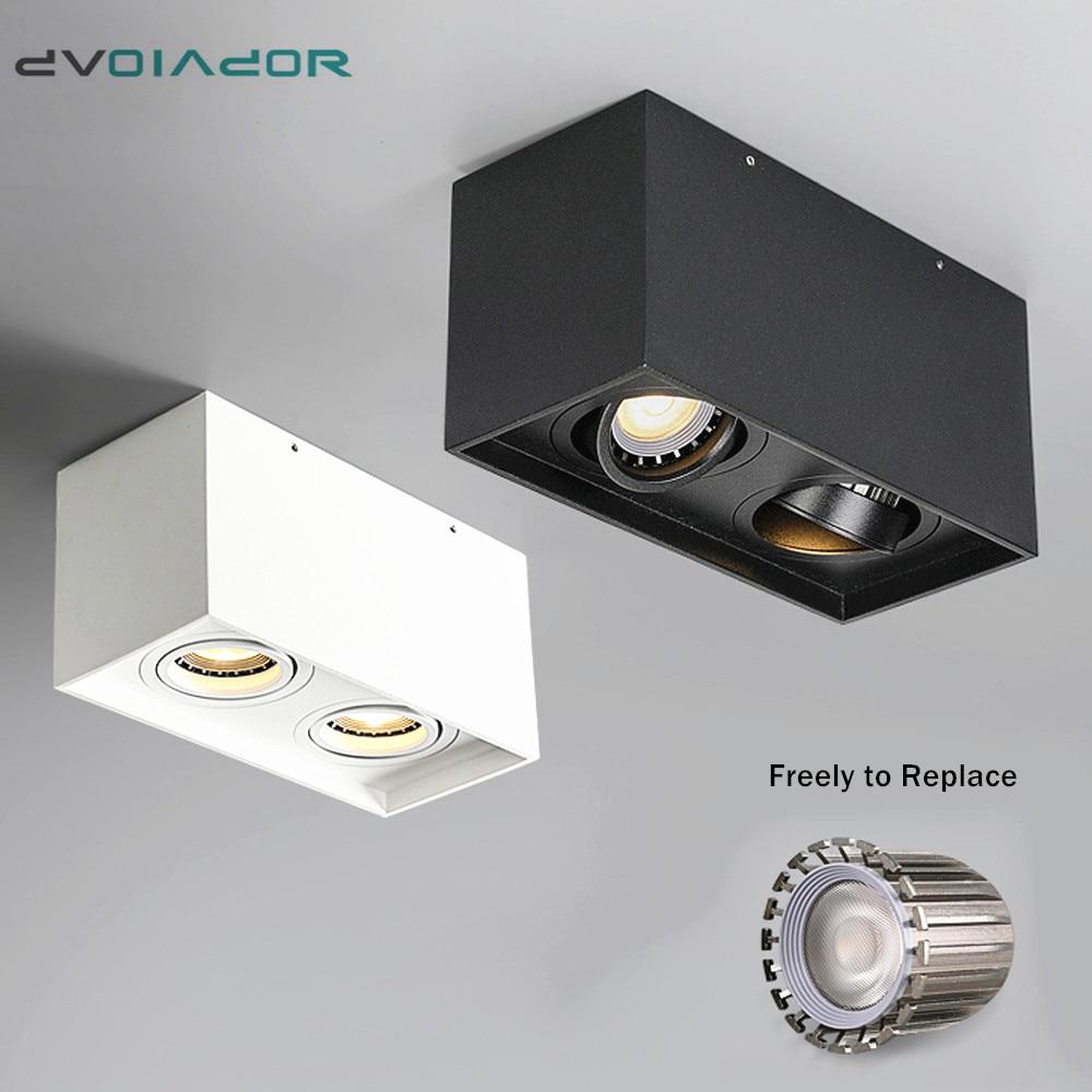 Led Spot Light Gu10 Lamp Single Double