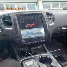 Android 9,0 4 + 64G Tesla stil auto GPS Navigation für Dodge Durango 2010 2020 Auto radio band recorder steuergerät Multimedia player