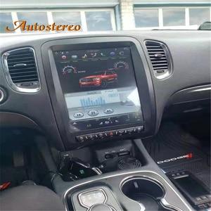 Image 1 - Android 9.0 4+64G Tesla style car GPS Navigation for Dodge Durango 2010 2020 Auto radio tape recorder headunit Multimedia player