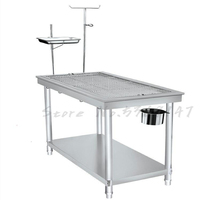 Stainless Steel Pet Special Operating Table Dog Treatment Beauty Infusion Shearing Manufacturers Size