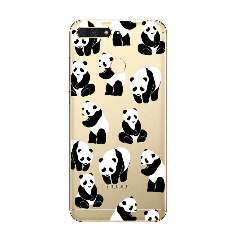 Funda de teléfono de panda hámster para Huawei Honor 8X8 S 7A 8A 7C Pro funda trasera de silicona suave para Honor 10i 20i 10 20 Lite