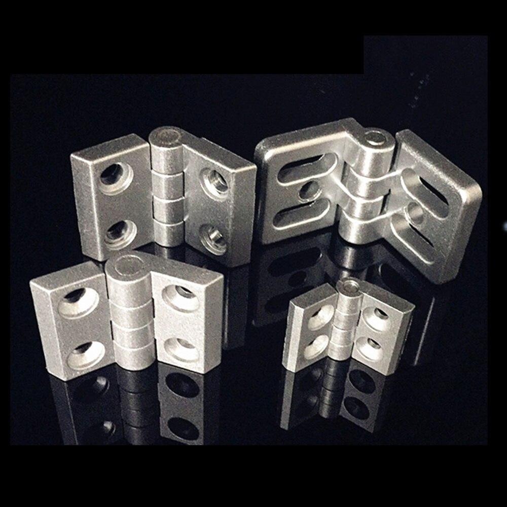 10 шт. алюминиевый экструзионный профиль для 2020 3030 3040 4040 металлический шарнир из цинкового сплава с винтом и гайкой