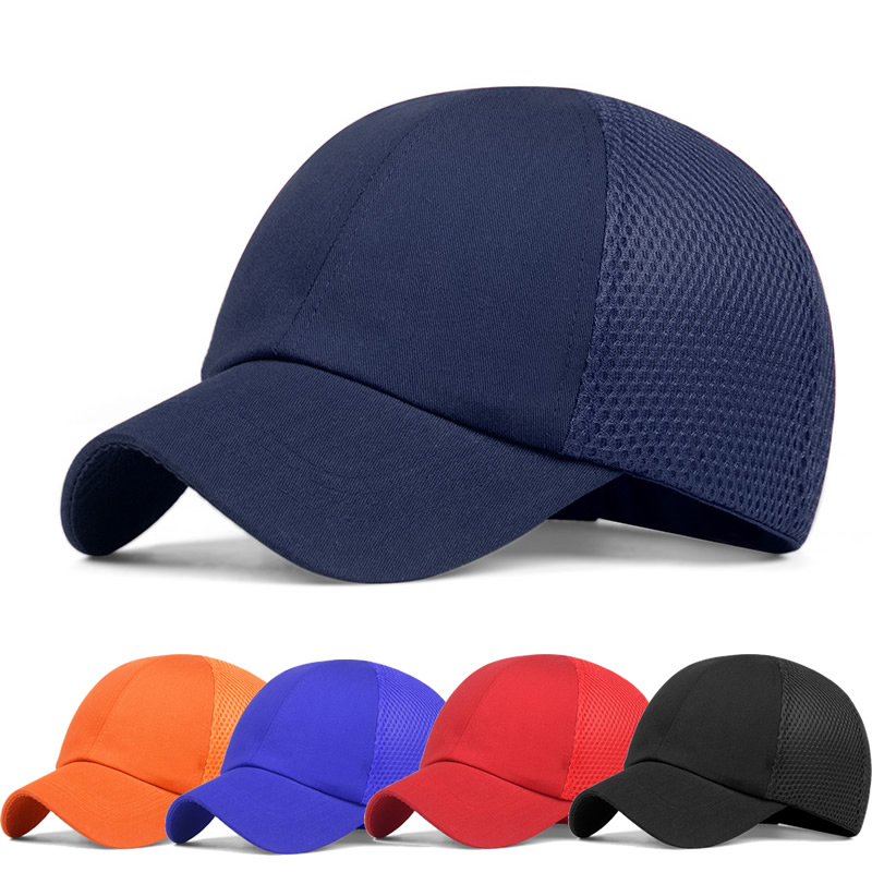 Summer Bump Cap Protective Baseball Hat Style Breatheable Hard Hat Work Safety Helmet For Work Site Head Protection