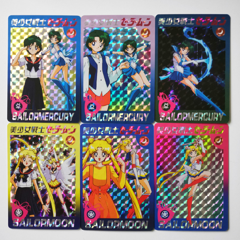 48pcs/set Sailor Moon Sexy Beauty Dragon Ball Z Hobby Collectibles Game Collection Anime Cards Limit Sexy Girl Free Shipping