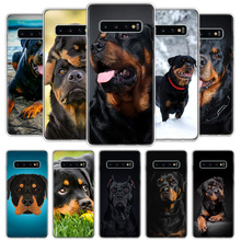 Cute Rottweiler Dog Phone Case For Samsung Galaxy A