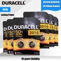 12 шт., оригинальные батарейки для Duracel CR2016, 3 в, литиевые батареи для часов, игрушек, компьютера, калькулятор, управление DLCR 2016